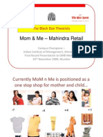 The Black Box Theorists-iim bad Mom Me - Mahindra Retail - Arpit Shah v5