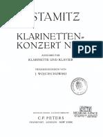 Stamitz c.-klarinette Konzert Nr. 3