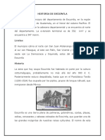 Historia de Escuintla