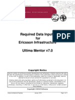 Ultima Mentor version 7 0 - Required data inputs for Ericsson.pdf