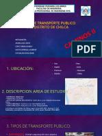 Rutas de Transporte Publico Del Distrito de Chilca