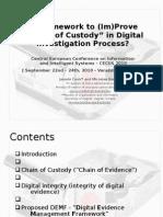 DEMF Cosic&Baca CECIIS2010 - presentation