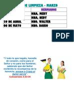 MINISTERIO LOGÍSTICA