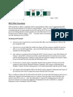 HDI Report May 2018