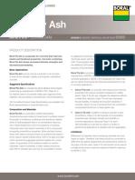 Tech Data Fly Ash ASTM C 618