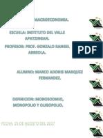DEFINICIONES MONOPILIO MACROECONOMIA
