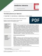 Toxicidad Pulmonar Por Hiperoxia