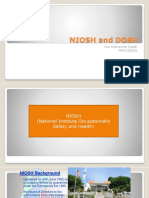 Niosh and Dosh