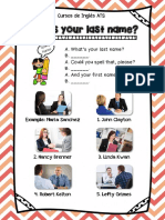 Whats Your Last Name Cheat Sheet