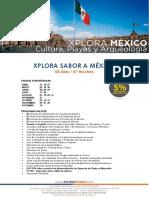 Sabor a Mexico 8d 7n
