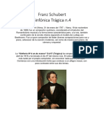 Franz Schubert Sinfonia 4 Analisis