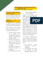 Guia 9 -Formulacion de Objetivos y Justificacion de La Investigacion