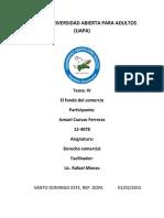 TEMA IV El Fondo de Comercio (1)