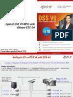 Open-E DSS V6 MPIO with VMware ESX 4.0