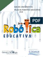 Ferias Regionales de Robótica Educativa 2018