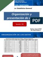Sesión 03- Organizacion y Presentación de Datos