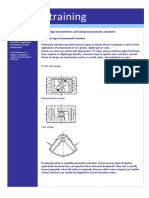 1.01 K Controls E-training - Operating Characteristics and Sizing of Pneumatic Actuators
