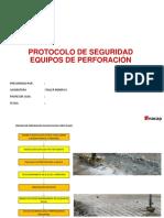 Protocolos de Seguridad Equipos Perforacion