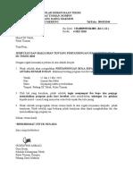 Surat Jemputan Program Sukan