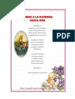 Himno Santa Ana Patrona
