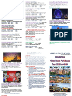 HongKong with Ocean Park or Macau Package Tour