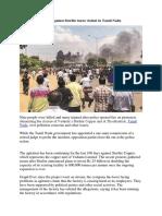 Nine Dead as Protest Against Sterlite Turns Violent in Tamil Nadu