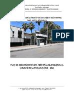 Plan de Desarrollo de Las Personas Al Servicio de La Uniscjsa 2017