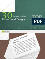 Top 30 Resources for Instructional Designers