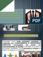 Delitos Contra La Administracion Pública - Trafico de Influencias y Malversacion