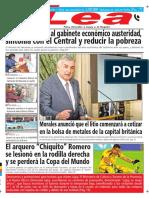 Periódico Lea Miércoles 23 de Mayo Del 2018