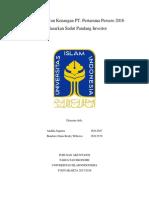 Analisis Laporan Keuangan PT. Pertamina Persero