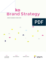 Kenk Brand Strategy Example