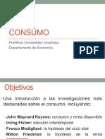 Consumo Macroeconomia