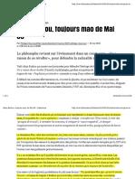 Alain Badiou Mai 68