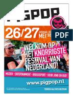 Magazine PIGPOP Festival 2018