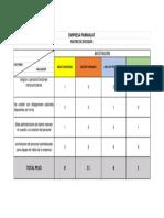 Matriz de Decision Parmalat