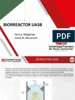 Biorreactor uasb