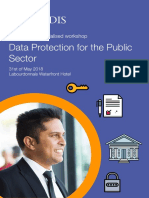Data Protection for the Public Sector Workshop