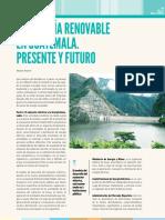 [Amaro] Energia Renovable en Guatemala Presente y Futuro
