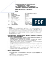 Silabus de Mecanica de Rocas 2017-i Civil