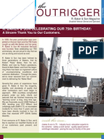 Demolition and Rigging Newsletter March 2010