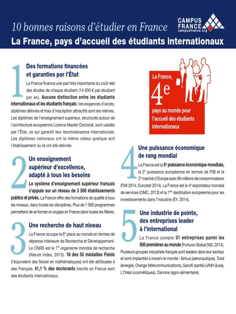 10 bonnes raisons fr
