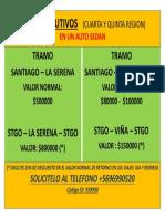 Viajes Ejecutivos (Cuarta y Quinta Region) PDF