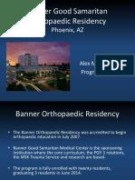 Banner Good Samaritan Orthopaedic Residency for Orthopaedia Acm