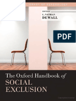[Oxford Library of Psychology] C. Nathan DeWall - The Oxford Handbook of Social Exclusion (2013, Oxford University Press)