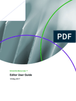 Spectrum Editor User Guide