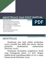 Menstruasi Dan Post Partum