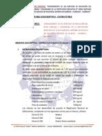 01. Memoria Descriptiva Estructuras