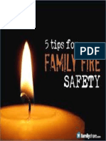 5 Tips for Family Fire Safety