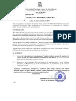 Convocatoria, Plazas y Reglamento Ingreso Carrera Docente